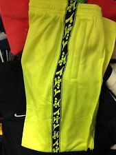 DIADORA TRAKSUITS BOTTOMS POLYESTERIN SMAL/MED 30/32 32/34 34 AT £12 lime