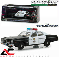 GREENLIGHT 86534 1:43  1977 DODGE MONACO METROPOLITAN POLICE TERMINATOR