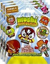 Moshi Monsters Moshlings Blind Foil Packs x 3 Bags Series 4