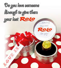 """"""" My Last Rolo """" - Love is.... Romantic Novelty Gift Valentines 2019"""