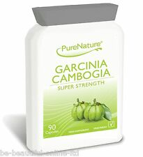 90 GARCINIA CAMBOGIA PURE 1500mg Daily Detox Weight Loss Diet Slimming Pills