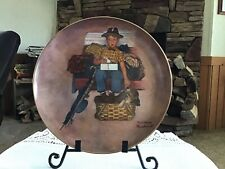 "Collectable Norman Rockwell Plate/ First Edition ""Scotty's Stowaway�/Numbered"