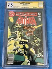 Detective Comics #510 - DC - CGC SS 7.5 - Signed by Joe Giella - Batman