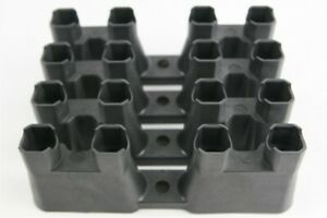 LS GM OEM Lifter Guide Trays - Set of 4 LS1 LS7 Roller Lifters Retainer Buckets