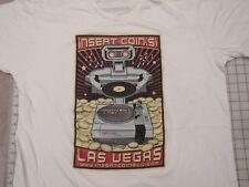 INSERT COINS Nintendo ROB T-SHIRT Mens XL Las Vegas Arcade Video Game NES R.O.B.