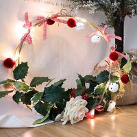 Leaf Garland String Fairy Lights LED Light Battery Party Wedding Christmas Xmas