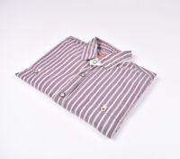 Hugo Boss Naranja Label Eltom-E Hombre Camisa Talla L