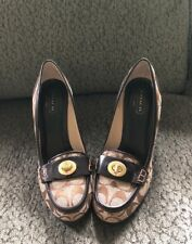 Coach Women's Danna signature heels 8.5 New!