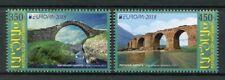 Karabakh Repubic of Artsakh 2018 MNH Bridges Europa 2v Set Architecture Stamps