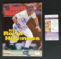 George Brett Signed Magazine Sports Illustrated Royals October 1992 JSA COA