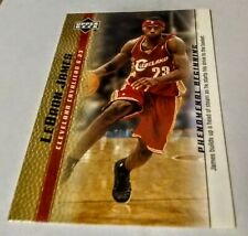 2003-04 LEBRON JAMES Upper Deck GOLD ROOKIE Phenomenal Beginning #11 RC MINT