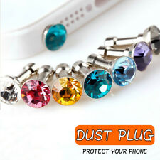 5pcs 3.5mm Diamond Dust Plug Phone Earphone Plugs For iPhone 5 5s 6 6s