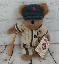 Nwt The Boyds Collection Sammy Slugger Plush Bear Baseball Bat Pin Stripes 8'
