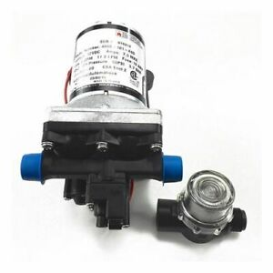 Shurflo 4008-101-A65 w/ Strainer | Marine and RV 12V Water Pump | 3.0 GPM