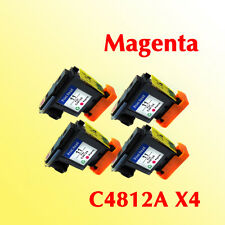 4x magenta printheads C4812A compatible for hp11 500 800 1000 1100 1200 printer