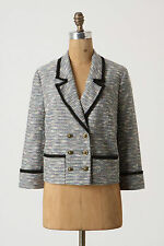 Anthropologie Tweed Jacket Today's Special Blazer Career By Coquille Size 10