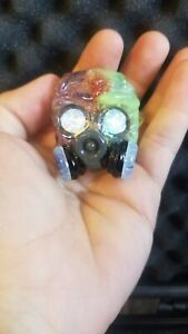 Mangoglass Custom handblown pendant matches custom recycler also sellingSeperate