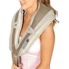 Shiatsu Neck Massager Shoulder Handheld Portable 20 Settings Deep Tapping Relax