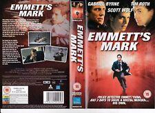 EMMETT'S MARK VHS PAL GABRIEL BYRNE,TIM ROTH,SCOTT WOLF RARE