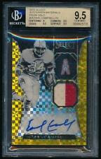 2016 Select EARL CAMPBELL Prizm Gold Auto Jersey /10 *Oilers* BGS 9.5