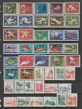 Yugoslavia 1956 - 1960 MH collection, 80 stamps.