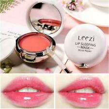 Sleeping Lip Mask Balm Cream Rose Essential Oil Repair Hydrating Moisturize 12g