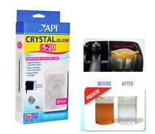 API Crystal Bio-Chem Zorb 50, 6pack for API Superclean Power Filter 50