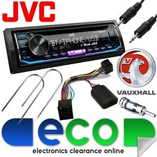 Vauxhall Corsa Combo B JVC Stereo Bluetooth CD MP3 USB Aux & Steering Wheel Kit