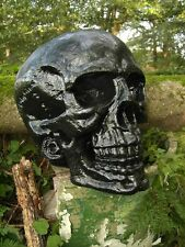 Totenkopf Deko Figur Skull XXL Schädel Gothic Horror Statue Halloween Fantasy