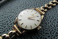Vintage ladies  9ct omega wrist watch .