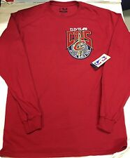 Cleveland Cavaliers Long Sleeve T-Shirt Red Large Lebron James Nba
