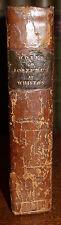 1831 The Works of Flavius JOSEPHUS William Whitson Jewish Historian