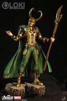 XM Studios HX Project Avengers Assemble Loki 1/6 Scale Statue Fig FREE SHIPPING