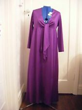 Fabulous purple petite evening dress by kweens OF CHELSEA size12 worn once