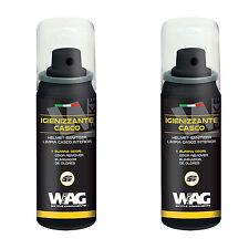 2x Limpiador Higienizante Eliminador de Olores Casco Bicicleta y Moto WAG 3989