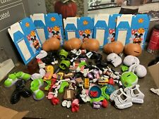 100 Assorted Mr Potato Head Walt Disney World Exclusive Parts & Bodies Read