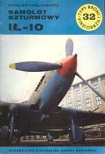 TYPI BRONI 32 ILYUSHIN IL-10 BEAST WW2 SOVIET RED AF VVS ATTACK PLANE_NKPAF_POLA