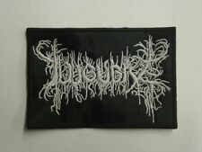 LUGUBRE BLACK METAL EMBROIDERED PATCH