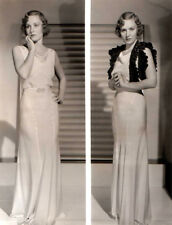 MADGE EVANS 8x10 PICTURE TWO GREAT POSES ONE PHOTO