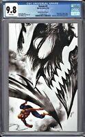 Venom #3 CGC 9.8 Kirkham SKETCH B&W VIRGIN Variant 1st FULL Appearance of KNULL