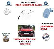 FOR NISSAN CHERRY N10 1.0 1.2 1.4 IE 1978-1981 REAR RIGHT BRAKE CABLE 36450M7101