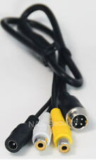 RCA1M Cable Female With Power Cable