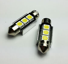 C5W 36MM 3 SMD LED CAN BUS OBC ERROR FREE Number Plate bulbs C