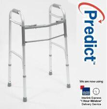 Drive Lightweight Folding Walking Frame Zimmer Disability Walker Mobility Aid