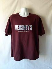 Hershey's Chocolate World men's brown short sleeve t-shirt size XL