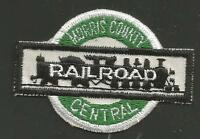 "MORRIS COUNTY CENTRAL RAILROAD  RAILROAD PATCH 2 7/8 "" *"