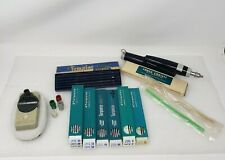 Vintage EAGLE Turquoise Drafting Pencil Drawing Leads Berol 17 Sharpener Lot