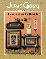 Home is Where the Heart is Cross Stitch | June Grigg Designs #16