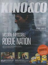 Kino & Co. 13.Jhg Ausgabe 170 Juli 2015-Mission Impossible, Terminator Genisys
