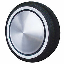 "White Wall Stripe Toppers Tyres 4x 16"" Whitebands Wheel Set Ford Hot Rod Chevy"